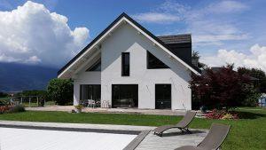 Rénovation complète d'une maison à Sonnaz, Savoie