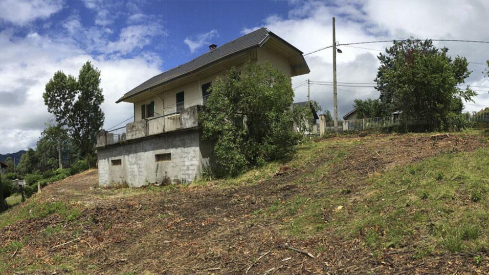 Extension de maison en structure métallique à Aix-les-Bains par MS Habitat, maîtrise doeuvre