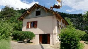 Surélévation de maison à Chambéry-le-Vieux, Savoie
