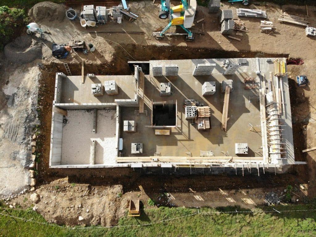Construction D Une Maison Contemporaine A Quintal 74 Ms Habitat