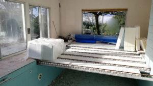 Transformation d'une piscine en T3 à Aix les bains, Savoie