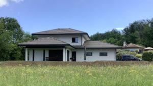Construction d'une villa à Épagny, Haute-Savoie
